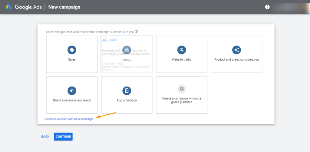 guide to create free google ad account