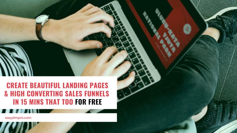 GrooveFunnels Best Landing Page & Sales Funnel Builder [Clickfunnels Free Alternative]