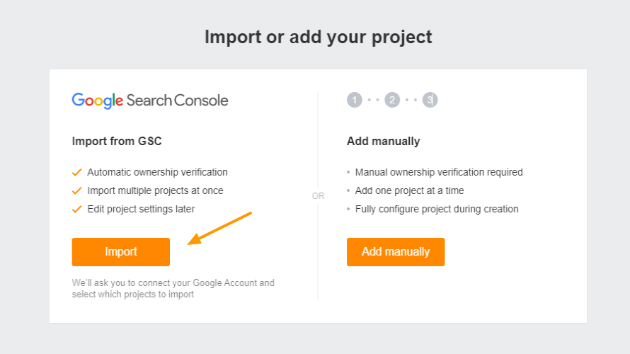Connecting Ahref webmaster Tools & Google Search Console